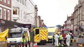 V Salisbury opět zasahovali policisté a záchranáři. Tentokrát kvůli nevolnosti muže