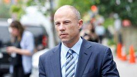 Michael Avenatti byl zadržen v pondělí v Nex Yourku. Čeká ho soud s Nike