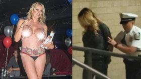 Stormy Daniels zadrželi údajně kvůli tomu, že se měla nechat osahávat při striptýzu.
