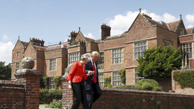 Donald Trump a Theresa Mayová
