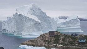 Ledovec u Innaarsuit