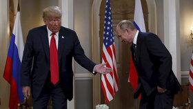 Rusko-americký summit mezi Trumpem a Putinem byl zahájen.