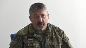 Tisková konference vedení armády k vytvoření nového vojenské praporu u Rakovníka (16. 7. 2018)