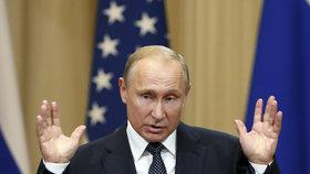 Popularita ruského prezidenta Vladimira Putina klesá. Může za to důchodová reforma?