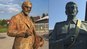 Stalin a Lenin z Česka jsou na prodej!