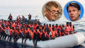 Přijměte jednoho migranta, vyzval Babiše Ital. My to tady nechceme, dostal ráznou odpověď