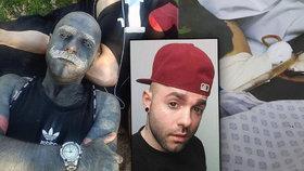 Adam má 90 % těla pokrytého tetováním: Nechal odstranit genitálie, prý kazí umělecký dojem