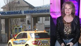 I se zlomenou kyčlí a ramenem chce Eva Pilarová (78) zpívat: Na jeviště mě donesou!