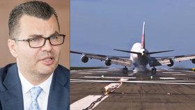 Šéf ruzyňského letiště Václav Řehoř