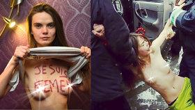 Spoluzakladatelka nahých aktivistek Femen Oksana Šačková spáchala sebevraždu v Paříži