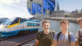 Tisíce mladých lidí dostali jízdenku na vlak po Evropě. Na většinu zájemců se nedostalo.
