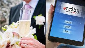 Finanční úřad měl podezření, že provozovna podváděla s EET. Vyzvala proto manžele o přeložení informací k jejich svatební hostině. Podle expertů je tento postup nezákonný.