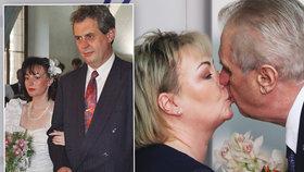 Jak šel čas s Ivanou a Milošem Zemanovými?