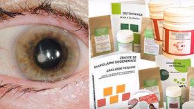 E-shop slibuje vyléčení řady očních nemocí.