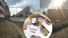 Obyvatelé v některých částech Zličína bojují s nízkým tlakem vody.