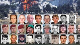 Všichni tito vojáci zemřeli na zahraničních misích.