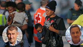 Kvůli odmítání migrantům se do Babiše pustil šéf Organizace pro pomoc uprchlíkům Martin Rozumek.