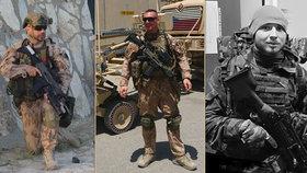Češi padlí v Afghánistánu: Martina Marcinu (†36), Kamila Beneše (†28) a Patrika Štěpánka (†25) povýšili ministr obrany Lubomír Metnar im memoriam