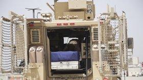 Rozloučení s trojicí padlých vojáků v Afghánistánu