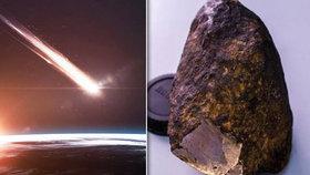Na Sibiři byl objeven mimozemský materiál. Obsahoval ho meteorit