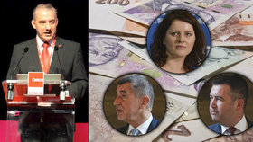 Odbory žádají vyšší platy pro státní zaměstnance. Vláda souhlasí. Jen každá strana s jinou částkou. Šéf ČMKOS Josef Středula chce vyjednávat s ČSSD - vicepremiérem Janem Hamáčkem a ministryní práce Janou Maláčovou
