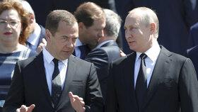 Ruský premiér Medveděv varoval před vyhlášením obchodní války.