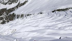 Na francouzské straně Mont Blancu zahynuli tři mladí Italové (ilustrační snímek)