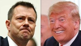 Americký Federální úřad pro vyšetřování (FBI) propustil svého vysoce postaveného agenta Petera Strzoka, který v SMS komunikaci se svou milenkou a právničkou FBI Lisou Pageovou kritizoval nynějšího prezidenta Donalda Trumpa.