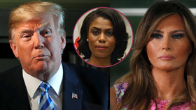 První dáma USA Melania Trump podle knihy Manigaultové Newmanové čeká na konec Trumpova funkčního období, aby mohla požádat o rozvod.