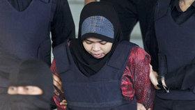 Siti Aisyahová, domnělá vražedkyně Kim Čong-nama, nevlastního bratra severokorejského vůdce Kim Čong-una