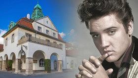 """Německé město Bad Nauheim, kde byl v době své vojenské služby ubytován legendární Elvis Presley, chce americkému """"králi rokenrolu"""" postavit bronzovou sochu v životní velikosti."""