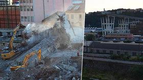 Zpráva o kolapsu Morandiho mostu u Janova naprosto šokovala i operátory tísňové linky 112.