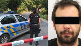 Michal podezřelý z vraždy se zastřelil před policisty, když ho obklíčili.