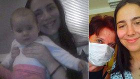 Mladá Maminka Dominika bojuje s leukémií. Její máma Lucie při ní stojí a hledá dárce.