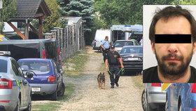Michal Š. (†40) podezřelý z vraždy přítelkyně: Měl armádní výcvik a 15 zářezů v rejstříku trestů