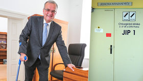 Miroslav Kalousek leží na JIPce Vojenské nemocnice v Praze