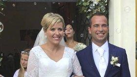 Svatební koalice: Jana Vildumetzová (ANO) si vzala Jana Mračka (ODS) (17.8.2018)