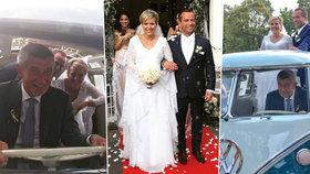 Babiš svezl novomanžele z ANO a ODS. Co jim dal darem a kde budou líbánky?