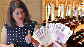Ministryně Jana Maláčová (ČSSD) a zvyšování důchodů ve Sněmovně
