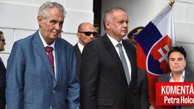 Zeman k výročí okupace nepromluví, ČT odvysílá projev slovenského prezidenta Kisky