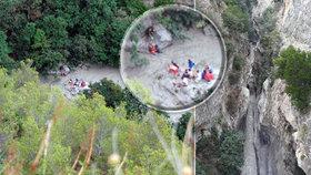 Nejméně deset turistů zahynulo v národním parku na jihu Itálie