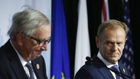 Jean Claude Juncker a Donald Tusk