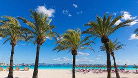 Pláž v Alcudii