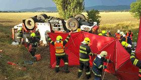 Nehoda cisterny na Šumpersku