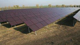 Solární elektrárna (ilustrační foto.)