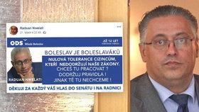Ostrá kampaň Raduana Nwelatiho (ODS), primátora Mladé Boleslavi, popudila Škodu Auto