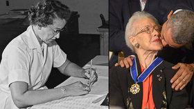 Geniální matematička Katherine Johnson slaví 100. narozeniny!