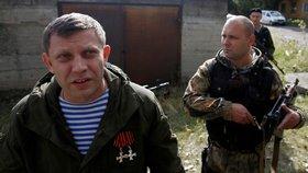 Vůdce doněckých separatistů Alexandr Zacharčenko zemřel po explozi v restauraci