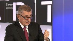 Premiér Andrej Babiš (ANO) na Partii na Primě