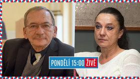 Senátní duel Blesku: Jaroslav Kubera a Terezie Holovská